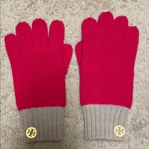 Tory Burch Pink Gloves